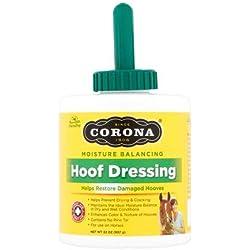 Manna Pro Corona Tools Corona Moisture Balancing Hoof Dressing Horse Hoof Restorer, 32 oz