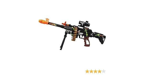 Enfants Combat SPIN 3 Electronic toy army GUN FUSIL avec sons lumières Vibration