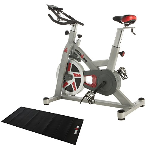 IRONMAN Fitness H-Class 520 Magnetic Tension Indoor Training Cycle with Bluetooth, BONUS My Cloud Fitness Chest Belt and added BONUS Equipment Mat