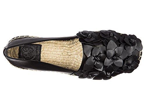 Tory Burch espadrilles femme blossom noir