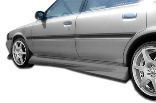 Duraflex Replacement for 1988-1991 Toyota Camry 4DR Xtreme Side Skirts Rocker Panels - 2 Piece ()