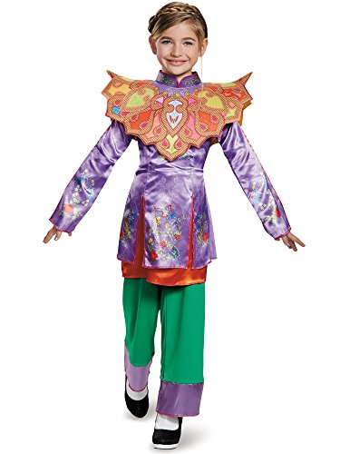 [Disguise Alice Asian Look Classic Alice Through The Looking Glass Movie Disney Costume, Medium/7-8] (Halloween Costumes For Asian Women)