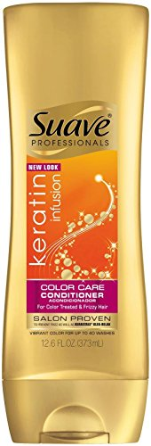 Suave Professionals Conditioner - Keratin Infusion Color ...