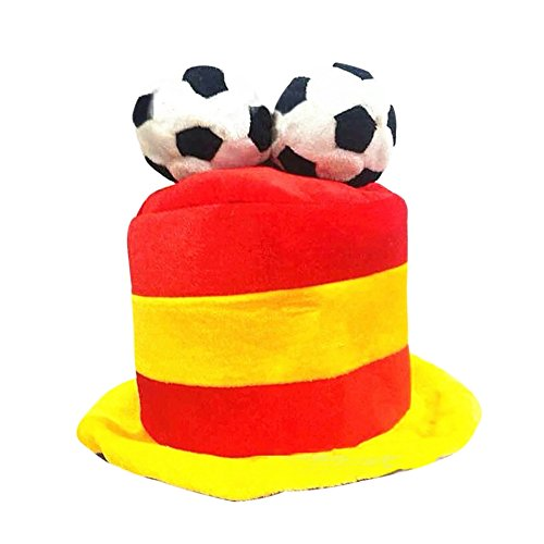 Wingbind World Cup Football Caps Hats Fans Headwear Cheerleading Team Props Party Cosplay Makeup Festival Costume Supplies -Flexible Matching National (Jester Halloween Makeup)