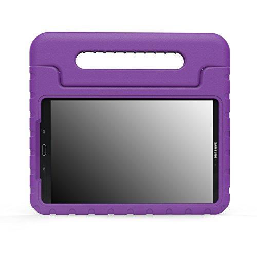 MoKo 6482203 Funda Ligero para Galaxy Tab A 10.1, diseñada para niños, Morado