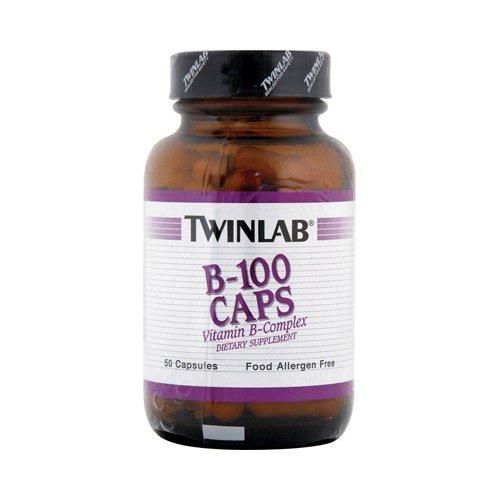 Twinlab B-100 50 Caps (Twinlab B-100 50 cap ( Multi-Pack))