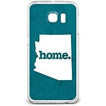 Arizona AZ Home State Case for Samsung Galaxy S6 Edge - Textured Turquoise