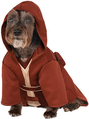 Rubies Costume Company Star Wars Classic Jedi Robe Pet Costume, Medium