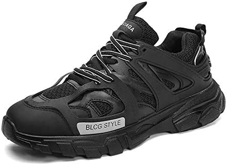 LLZGPZYDX Primavera Verano Malla Zapatillas De Deporte De Hip Hop para Hombres Zapatos Casuales Zapatos Cómodos Transpirables para Hombre Caminando Adulto: Amazon.es: Deportes y aire libre