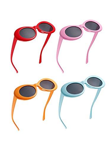 Mod pour Hommes Lunettes de Paires à Rond 8 Cadre Kurt Femmes Épais Soleil Lentilles Clout Lunettes Ovales Lunettes 8 Couleurs Rétro 7wRnURx