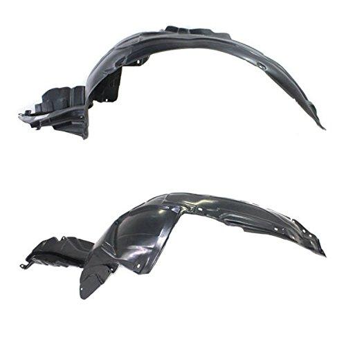 Koolzap For 04-05 Impreza/Outback Front Splash Shield Inner Fender Liner Left Right PAIR SET