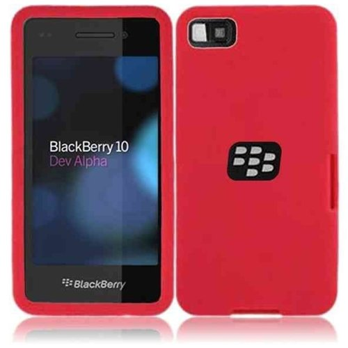 HR Wireless Blackberry Z10 Silicone Skin Cover - Retail Packaging - ()