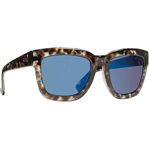 VonZipper Juice Sunglasses - Women's Quartz Tortoise/Blue Chrome, One - Blue Juice Sunglasses