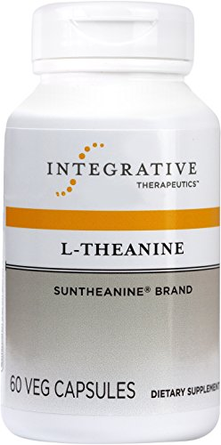 Integrative Therapeutics - L-Theanine (Suntheanine Brand) - Promotes Relaxation & Reduces Stress - 60 Capsules