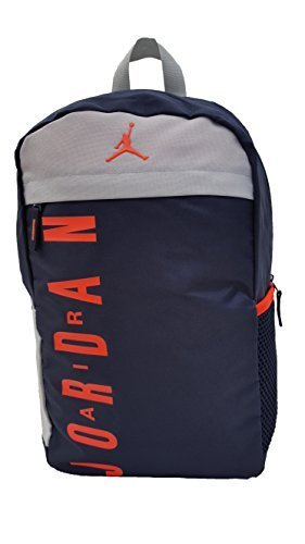 83817fb4acc2 Galleon - Nike Air Jordan Jumpman Youth Backpack (One Size Black Obsidian)