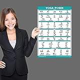 QuickFit Yoga Position Exercise Poster - Yoga Asana