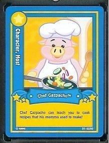 (Ganz WebKinz #2 Chef Gazpacho)