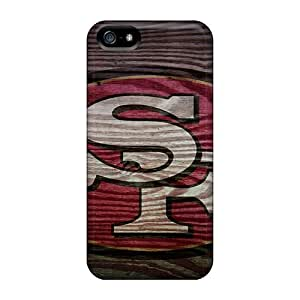 High Quality DateniasNecapeer San Francisco 49ers Skin Cases Covers Specially Designed For Iphone - 5/5s