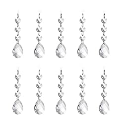 Super Clear Glass Hanging Crystal Ornament