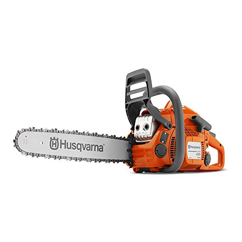 (Husqvarna 435e II, 16 in. 40.9cc 2-Cycle Gas Chainsaw)