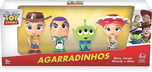 Agarradinhos Toy Story 4, Lider Brinquedos, Multicor Lider Brinquedos Multicor