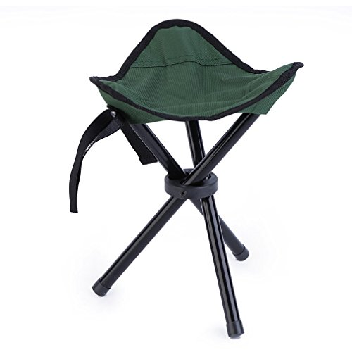OUTAD Folding Portable Travel Chair for Outdoor Camping/Fishing/Hiking (Green) (Portable Travel Camping Chair)