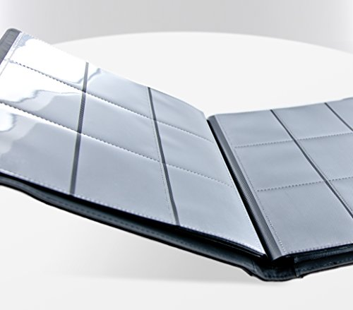 Ultimate Guard 9 Pocket XenoSkin FlexXfolio, Black by Ultimate Guard (Image #2)