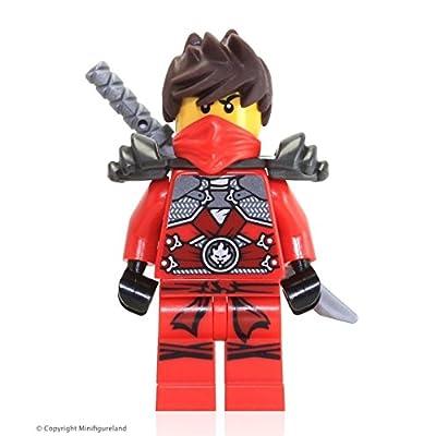 LEGO Ninjago MiniFigure - Kai (2015 Target Exclusive - Set 5004077): Toys & Games