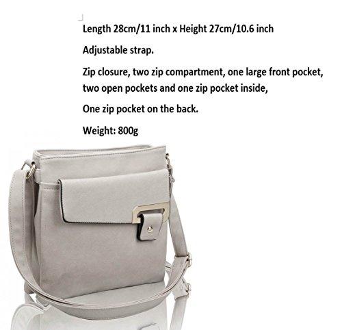 SHORT CWS00429 Selling LeahWard® Quality Bag Shoulder Hot Trendy Faux Ladies Messenger Leather Women's Designer NAVY Cross Fashion Celebrity Body wqTrHxvaw