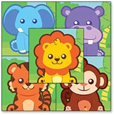 Personalized Safari Animal Growth Chart Wall Decal For Nursery Kids Room Arts Crafts Sewing