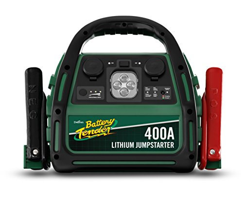 400 Amp Lithium Ion Jump Starter can Start Your Dead Battery, It's...