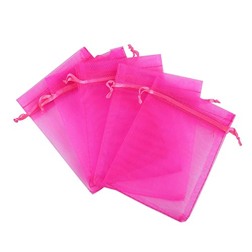 Blue Fabric Party Bags - 8