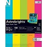Astrobrights Paper 24 Lb 8.5'' x 11'' 100 Sheets Bright