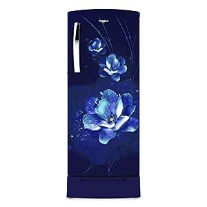 Whirlpool 245 L 4 Star Inverter Direct-Cool Single Door Refrigerator (260 IMPRO PLUS ROY 4S INV SAPPHIRE FLUME, Sapphire…