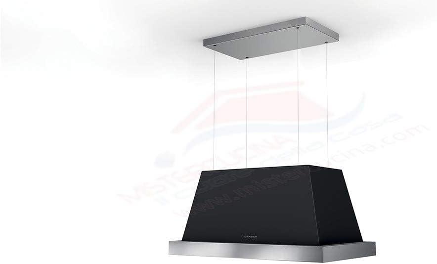 Faber THEA ISOLA - Campana extractora (80 cm), color gris oscuro: Amazon.es: Grandes electrodomésticos