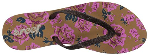 Reef Mujeres Stargazer Prints Sandal Tan Rose