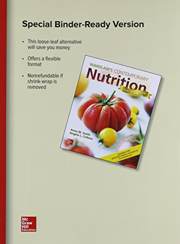 Wardlaws Contemporary Nutrition Upd (W/Access Code & Die