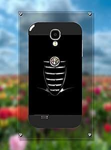 Vintage Pattern Galaxy S4 I9500 Funda Case Car Logo Alfa Romeo - Personalized Hard Funda Case Dust-Proof Drop Protection Back Film Protector Skin For Samsung Galaxy S4 I9500