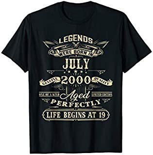 Funny 19th Birthday s 19 Years Old Gifts T-shirt | Size S - 5XL