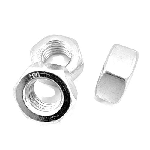 M16 Full ( Plain ) Nuts .DIN 934. BZP. GRADE 8. Pack of 4.( FREE Delivery ) Heyes Fasteners