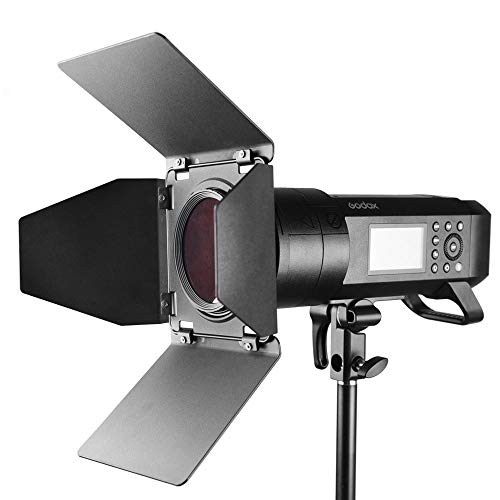 Godox BD-08 Barn Door Kit Include Honeycomb Grid and 4 Color Gels Filters Compatible with Godox AD400Pro Studio Flash Speedlite by Godox (Image #5)
