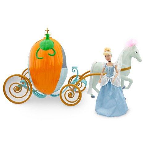 Cinderella Doll and Carriage Playset Transforming Pumpkin Carriage Disney ()