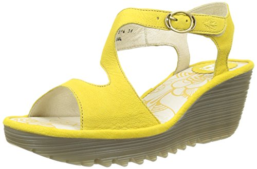 lemon Donna Heels 022 Yanca Fly Giallo Sandals London zTCaaqY