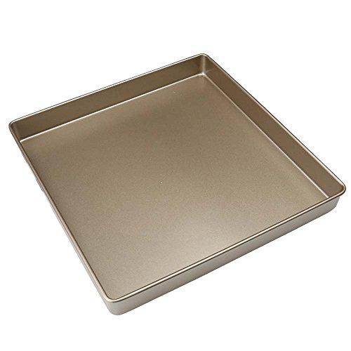 BESICA 11x11 inch Biscuit/ Brownie/ Lasagna and Roasting Pan Cookie Pan