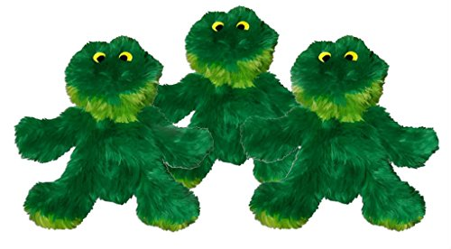 Kong Frog Dog Toy, Extra Small, Green (Small Frog)