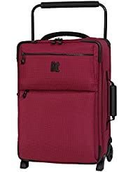 it luggage World's Lightest Los Angeles 21.5', Persian Red 2 Tone
