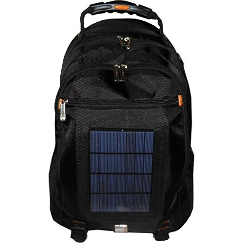 Urban Factory 15.6-Inch Solar Backpack with Battery to Ch...