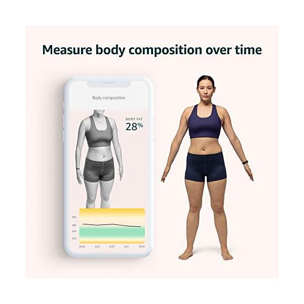 Amazon Halo – Measure activity, sleep, body composition, and tone of voice - Winter + Silver - Medium 3