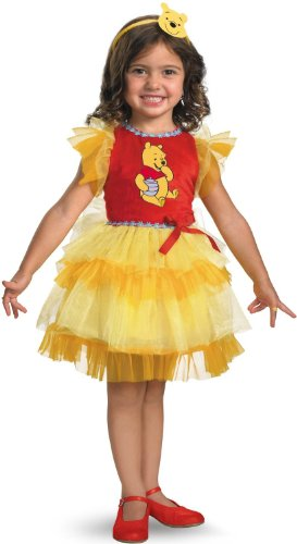 Frilly Winnie The Pooh Costume (12-18 months)]()