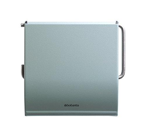 Brabantia Toilet Paper Holder, Toilet Roll Holder, WC Paper Roll Holder, TP Holder, Metallic Mint, ()